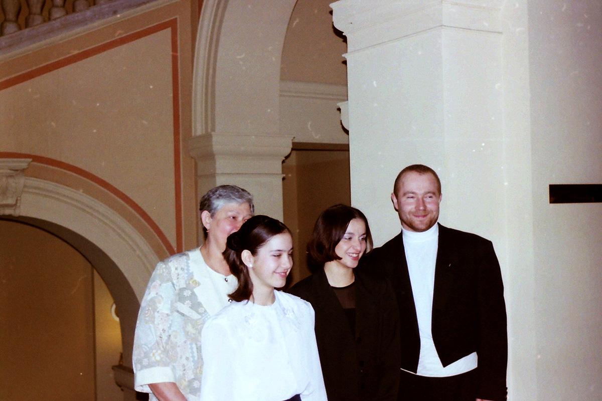 Zľava: A. Klattová, A. Hučková, Z. Jandová, J. Krygel